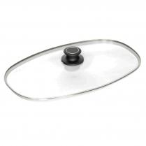 AMT Roasting Dish Lid, 40 x 24cm 18/10 Rim