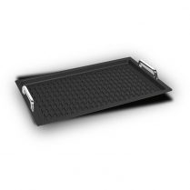 AMT Gastronorm 1/1 - 2cm with BBQ surface & handles (Inducti