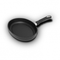 AMT Fish Pan, 35 x 24cm with Grill bottom and Juice Rim (Ind