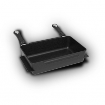 AMT Universal Roasting Dish 38 x 24 x 9cm, 7L with detachabl