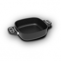 AMT Square Pan 24 x 24 x 7cm, side handles (Induction)