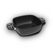 AMT Square Pan deep 26 x 26 x 9cm, side handles (Induction)