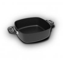 AMT Square Pan 28 x 28 x 9cm, side handles (Induction)