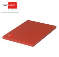 Profboard Choppingboard No-Juicegroove 40 x 60 Red