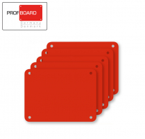 Profboard Sheets Series/1000 30 x 40 Red (5 Pcs)