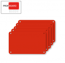 Profboard Sheets Series/1000 30 x 50 Red (5 Pcs)