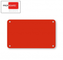Profboard Sheets Series/1000 30 x 50 Red (1 Piece)