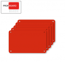 Profboard Sheets Series/1000 32.5 x 53 Red (5 Pcs)