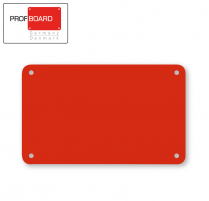 Profboard Sheets Series/1000 32.5 x 53 Red (1 Piece)