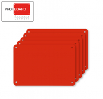 Profboard Sheets Series/1000 40 x 60 Red (5 Pcs)