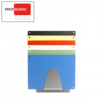 Profboard Sheet Holder - Wall - Small 29 x 49 Stainless