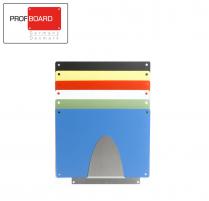 Profboard Sheet Holder - Wall - Big 49 x 49 Stainless