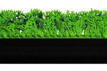 Dalebrook Green Heavy Duty Garnish Divider Black Base