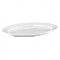 Dalebrook White Oval Platter 14.25