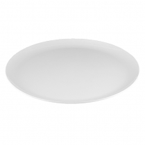 "Dalebrook White Round Platter 18"" Dia. x 1.5""H"