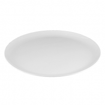 "Dalebrook White Round Platter 24"" Dia. x 2-1/8""H"