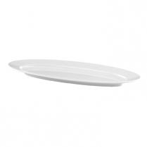 Dalebrook White Oval Platter 28