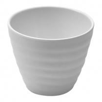 Dalebrook White Ripple Pot 12oz 4.25