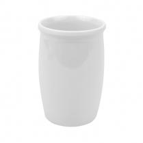 """Dalebrook White Dressing Pot 1qt 4.25"""" Dia x 6.5""""H"""