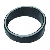 "Dalebrook Black Non-Slip Slanted Riser 3.5"" Dia x 1.25""H"