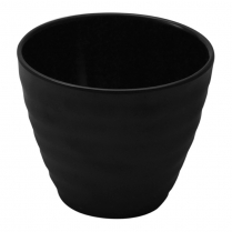 Dalebrook Black Ripple Pot 12oz 4.25