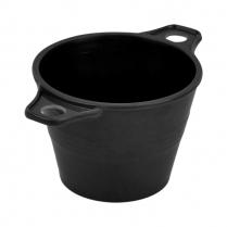 "Dalebrook Black Ranch Pot 4.5oz 4.5"" x 3"" x 2.25""H"