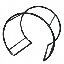 "Dalebrook Black Mini Circular Buffet Stand 11.25"" x 7.75"" x"