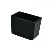 Dalebrook Black Chunky Crock 5/8qt 5