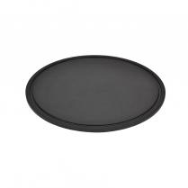 "Dalebrook Slate Effect Round Platter 8.5"" Dia x 1/4""H"