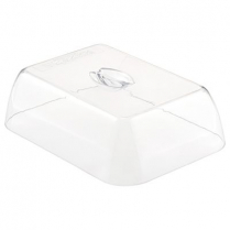 """Dalebrook Lid for DTB600 Tray 12 x 9"""" Acrylic Clear"""
