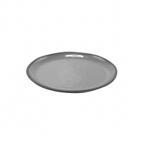 Dalebrook Charcoal Gray Marl Large Shallow Plate 11