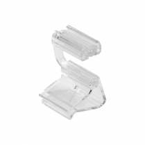 "Dalebrook Clear Adj Card Holder/Ticket Clamp 0.75"" (10/Pack)"