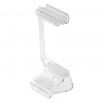 "Dalebrook Clear Adjustable Card Holder/Ticket Clamp 2"" (10/P"