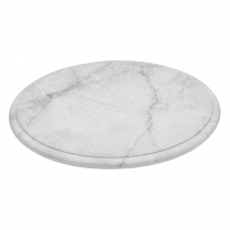 Dalebrook White Carrara Marble Platter 11.25
