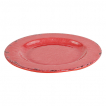 Dalebrook Red Casablanca Plate 9