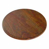 Dalebrook Rustic Wood Round Platter 11.25