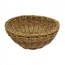 Dalebrook Round Poly Wicker Basket 7