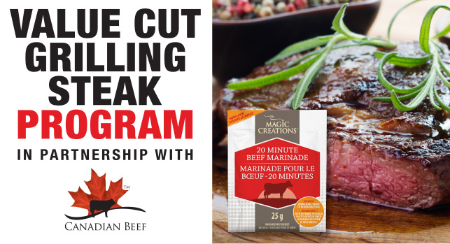 Magic Creations in Partnership With Canadian Beef