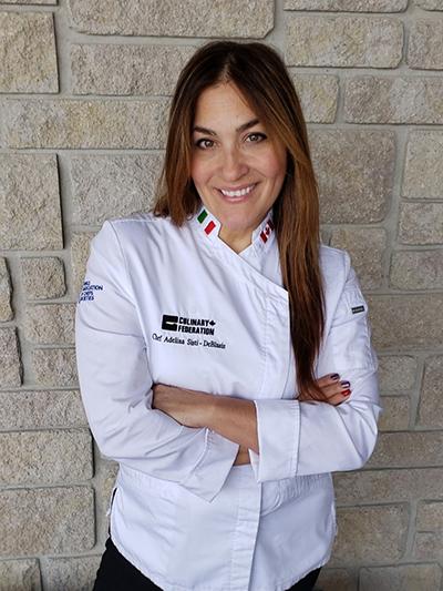 Chef Adelina Sisti-DeBlasis – Culinary Foundation Central Region Vice President and Culinary Team Canada