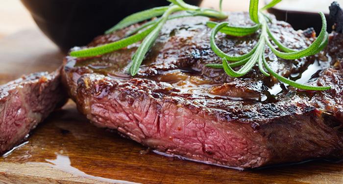 Delicious Canadian Beef Steak