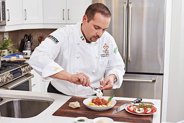 F. Dick Chef Preparing Food
