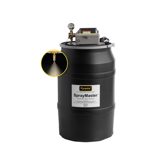SPRAY MASTER - 55 GALLON UNIT WITH BATTERY BACK UP