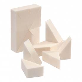 Silkline Foam Make Up Wedges 24 Pcs SL24WEDGEC 02326