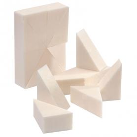 Silkline Foam Make Up Wedges 96 Pcs SL96WEDGEC 02643