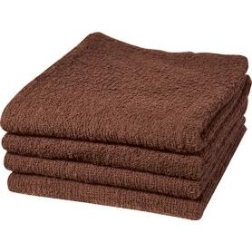 """Dannyco Cotton Towels 16""""x28"""" 1Dozen - Brown #10014"""