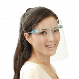 Clear Face Shield With Glass Frame 10420