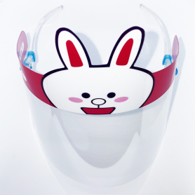 Child Face Shield With Character Banner 10432