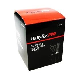 BaBylissPRO Scissors & Accessories Holder Black - 37145