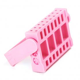 Apres Nail Bit Holder Pink APBIT-PK 68742