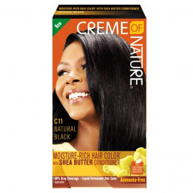 Creme Of Nature Hair Color/Conditioner C11 Natural Blk 78011